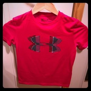 Youth Boy's Under Armour Wicking Tee Sz Sm